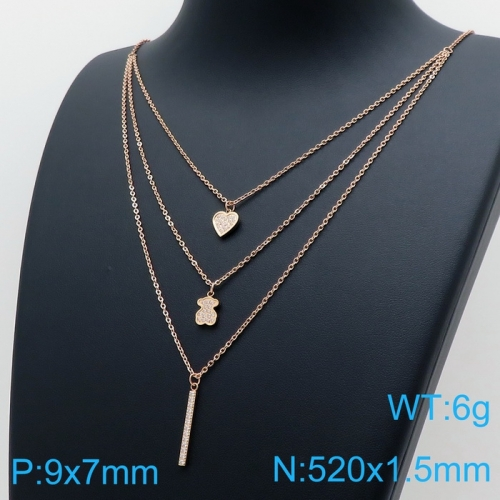 Stainless Steel Tou*s  Necklace D201020-XL-083R