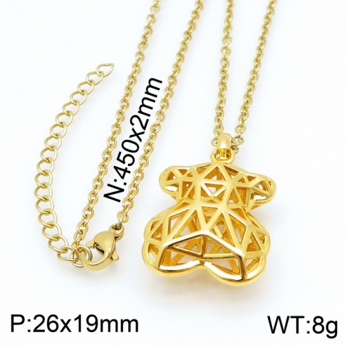 Stainless Steel Tou*s  Necklace D201020-XL-084G