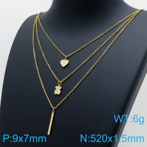 Stainless Steel Tou*s  Necklace D201020-XL-083G