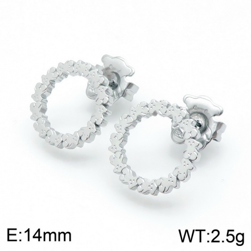 Stainless Steel Tou*s Earring D201020-ED-130S