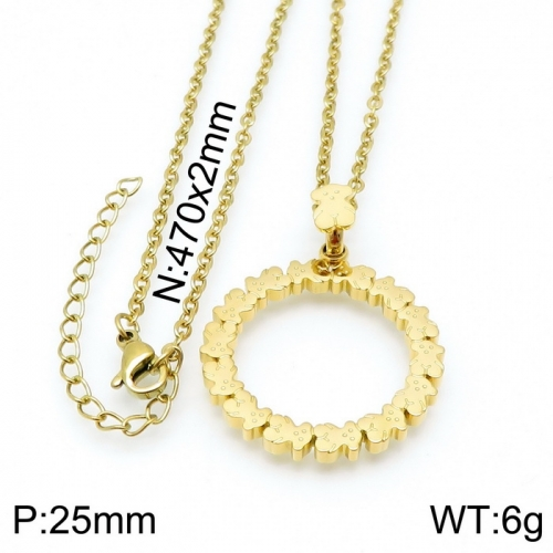 Stainless Steel Tou*s  Necklace D201020-XL-085G