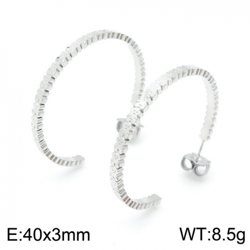 Stainless Steel Tou*s Earring D201020-ED-131S