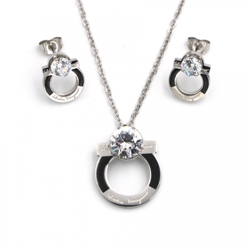 Stainless steel   Jewelry Set TZ352G