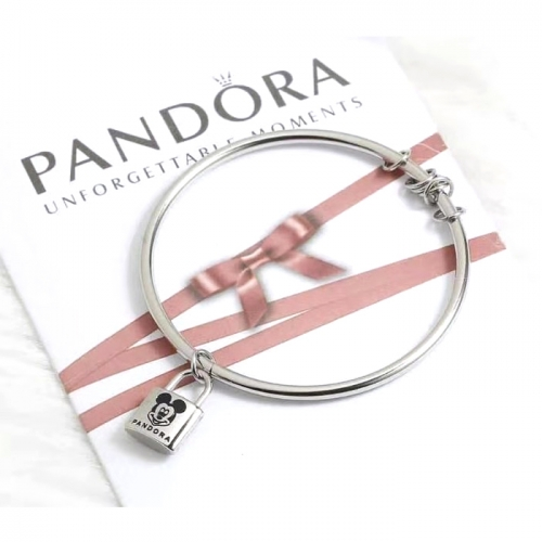 Stainless steel Pandor*a Bangle HY210107-de001 (3)