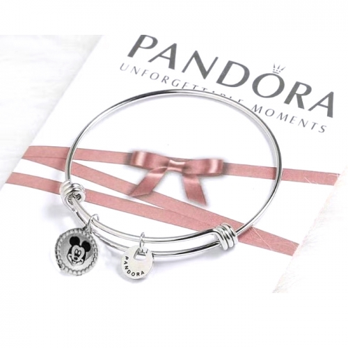Stainless steel Pandor*a Bangle HY210107-de001 (4)