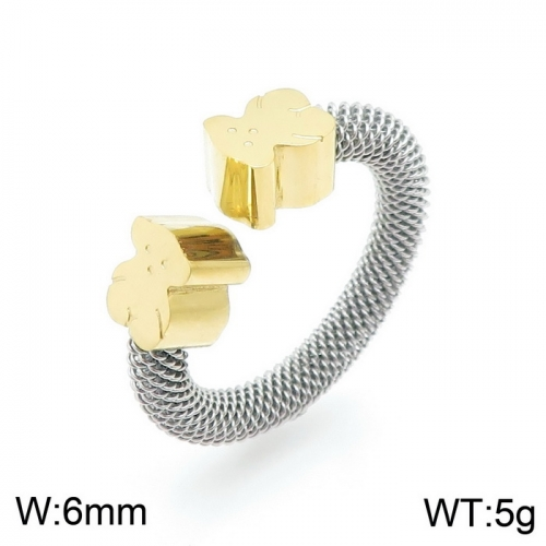Stainless steel Tou*s Ring JZ-034SG