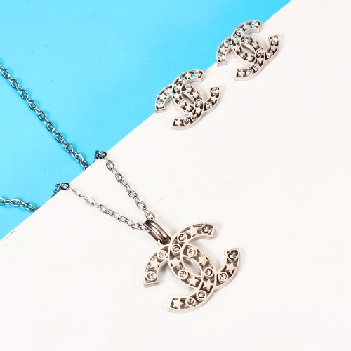 Stainless steel Brand jewelry set HY210107-fe4c018
