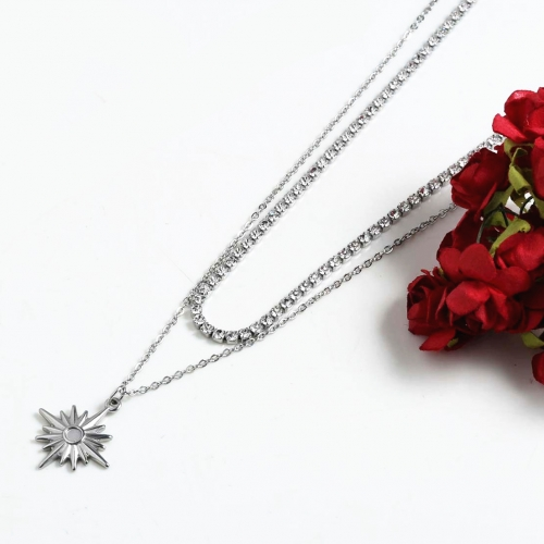 Stainless steel Necklace N7005-S