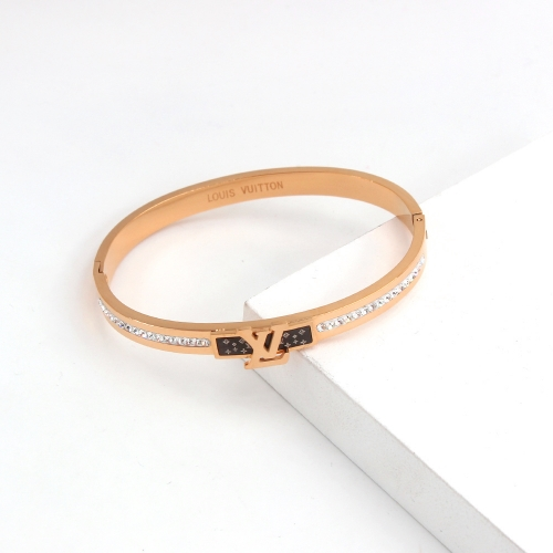 Stainless Steel Brand Bangle HY210413P2491