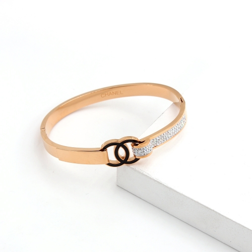 Stainless Steel Brand Bangle HY210413P2488