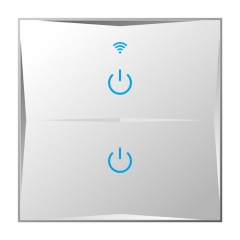KS-601 EUR 86 Style Smart Touch Switch Wifi Glass Waterproof Light Switches