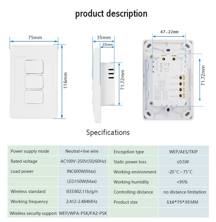 wifi power switch