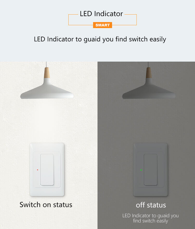 smart wall light switch