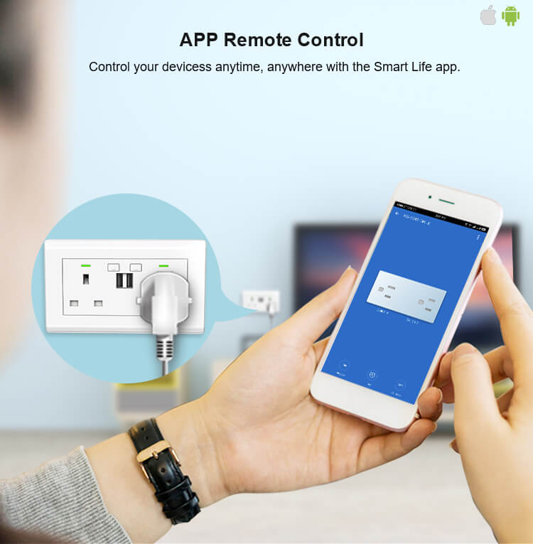remote control sockets uk