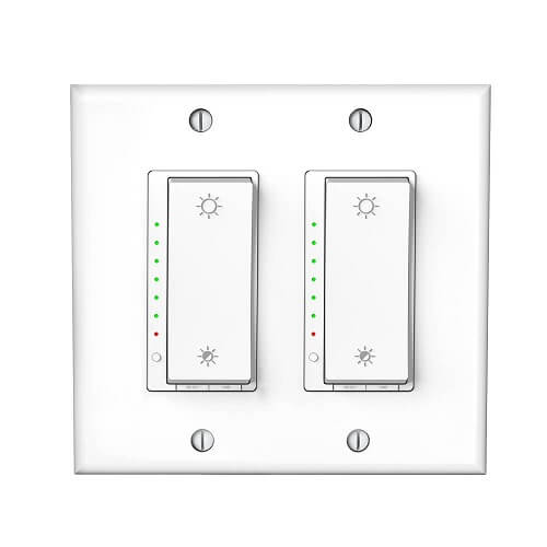 dual led dimmer switch