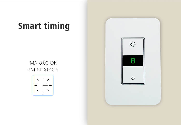 light dimmer timer