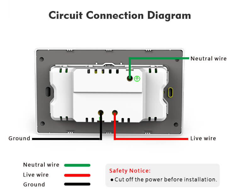 double socket wiring diagram uk