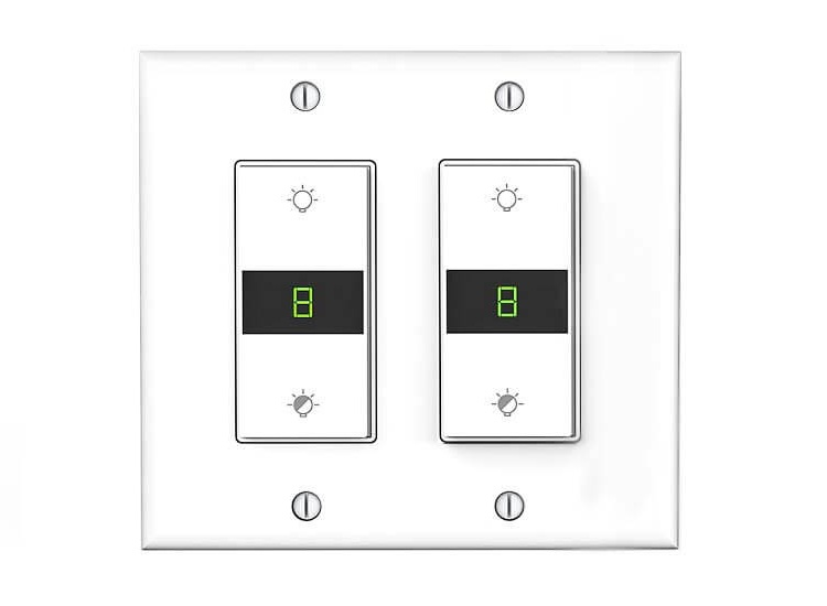 double led dimmer switch