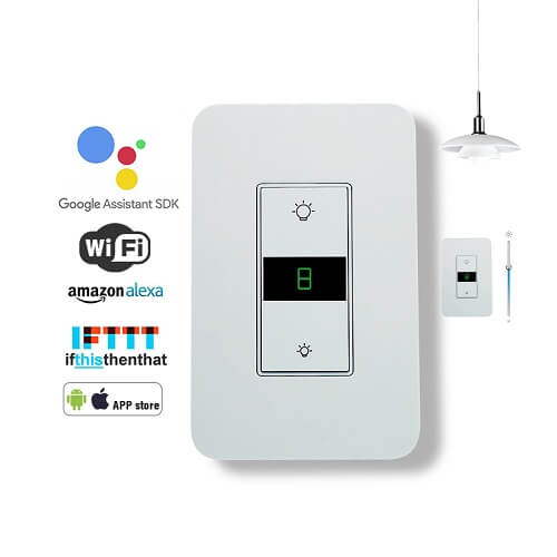 KS-7011 US Digital Remote Dimmer Switch for Led Bulbs