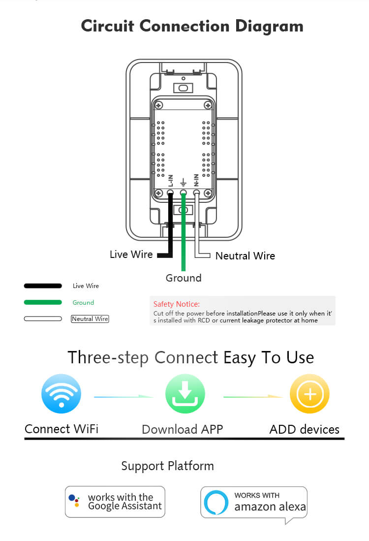 smart outlet wiring diagram