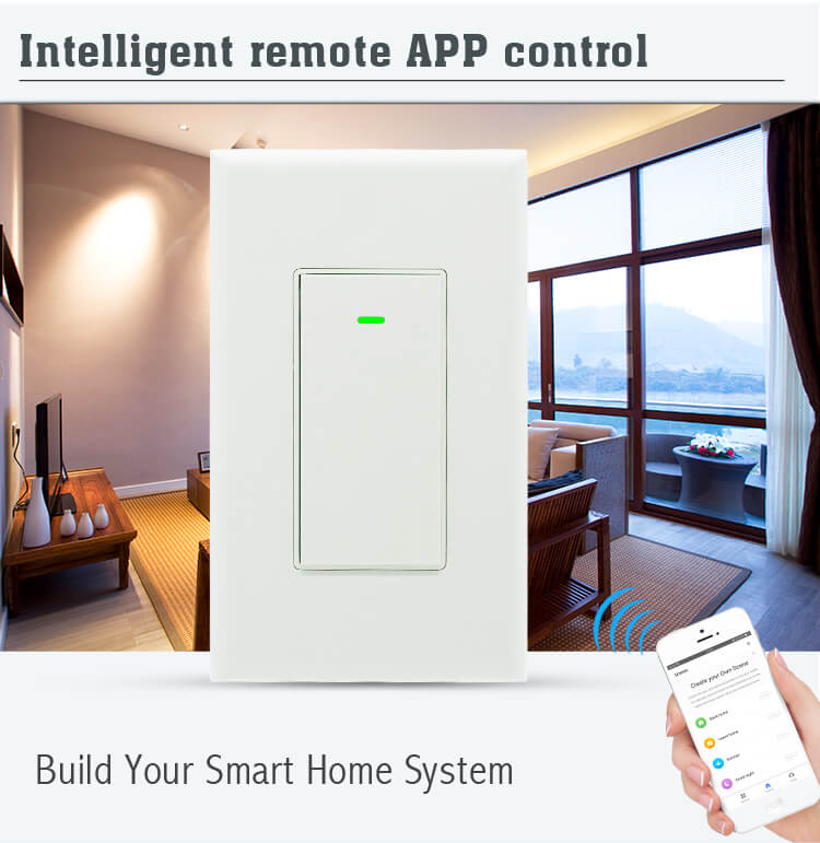 App controlled light switch