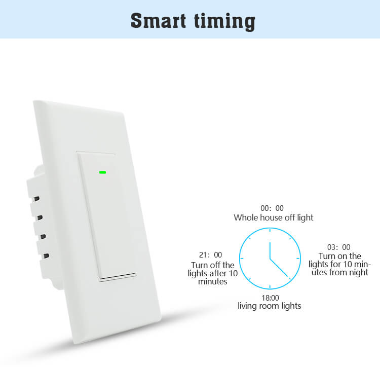 smart light switch timer