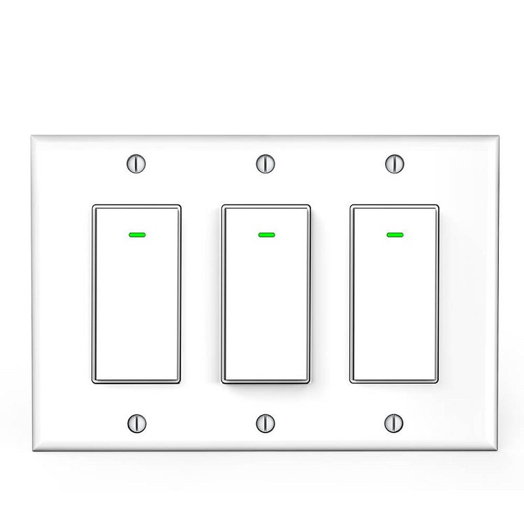 3 pole wifi switch