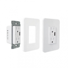 KS-604S US Smart Outlet Wireless Remote Control Power Duplex Outlet