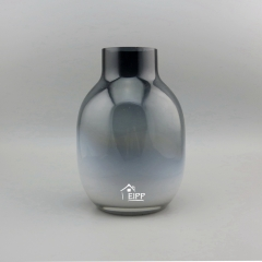 Gorgeous Designs Glass Vases wholesale Black Weeding Table Vase Decoration Flower Decorative Vases Glass