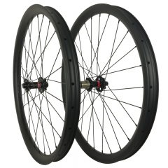Build Your Own Carbon wheels Mountain Bike 29er 650B 26er Carbon Clincher/Tubeless bicycle wheelset