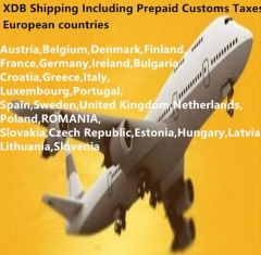 Free tax shipping to Following European Countries
