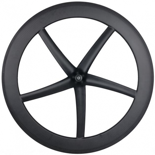 [CBRT25Z5] carbon 5 spoke wheels 700c bicycle carbon road/track/fixed five spoke wheels