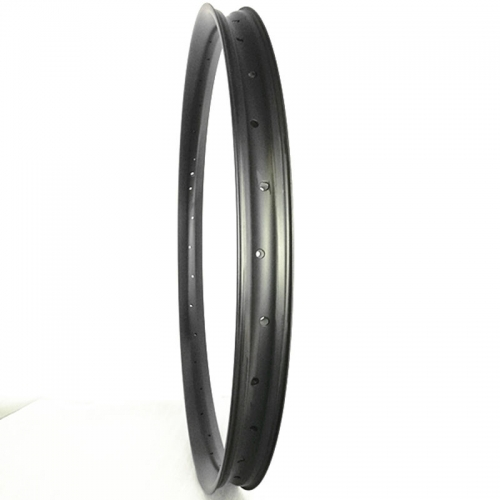 [CB27AM50] Premium 500g 50mm Width Carbon Semi-Fat MTB 27+ Rim Hookless Tubeless Compatible mtb rims