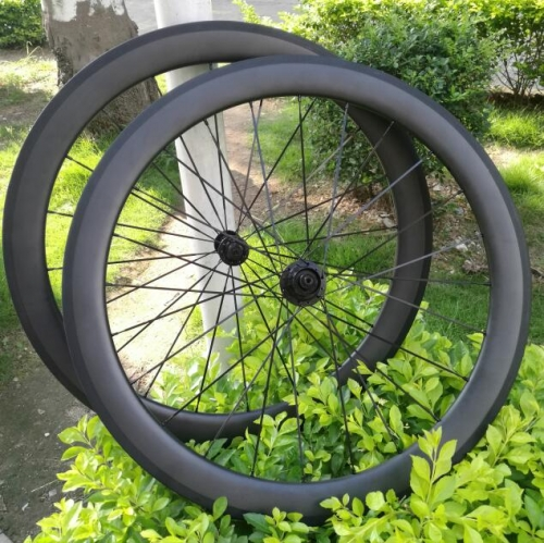[CB23RC50-650C] 650C carbon wheels 50mm carbon bicycle wheels wide 23mm road bike clincher Tubular carbon wheelset