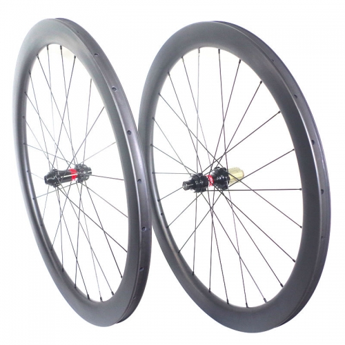 Build Your Own Gravel Brake Carbon wheels Road Bike 700C/650B Carbon Clincher Tubeless compatible bicycle wheels