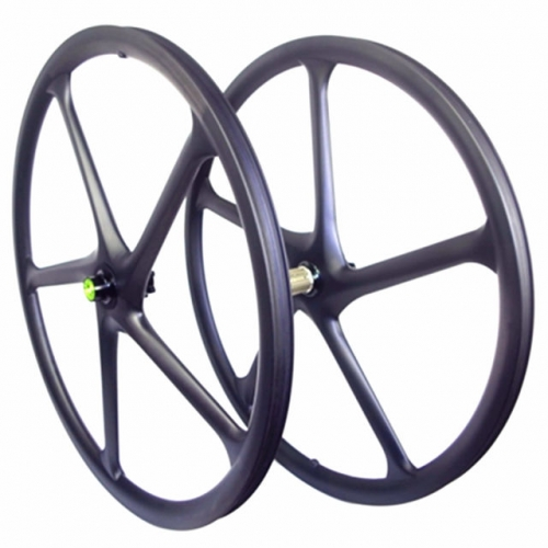 "[CB29XC27] Lefty 1.0/2.0 29er 27mm Width Carbon Mountain 29"" Wheels Five-Spoke Clincher Tubeless Compatible 5 spoke mtb wheels"