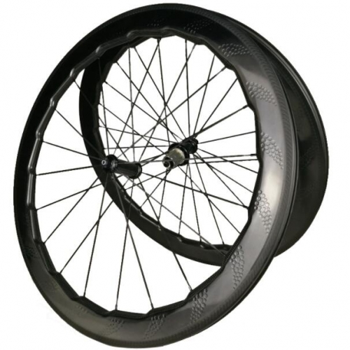 SN454 Road bike 58mm dimple carbon wheels clincher tubular wheel carbon wheelset