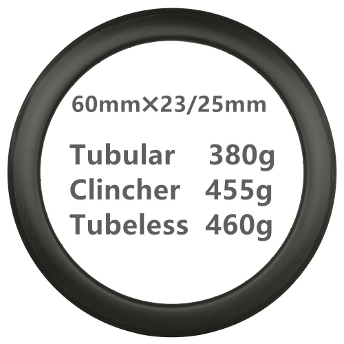 Free Shipping 360g Super light 60mm Depth Carbon Road Bike rims  700C Carbon Rims Clincher carbonbeam Tubular Tubeless T800 bicycle wheels