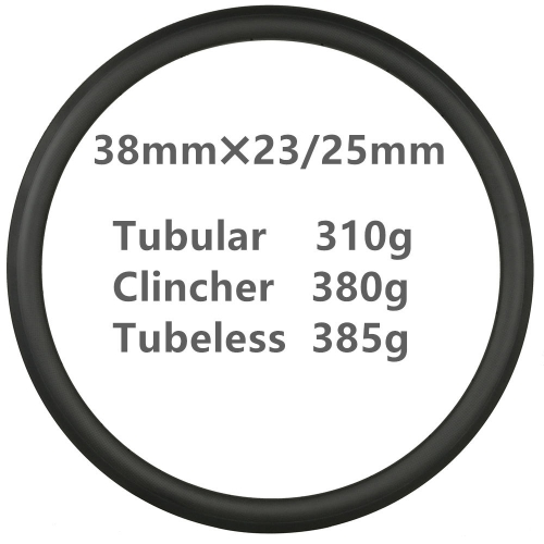 Free Shipping 300g Super light 38mm Depth Carbon Road Bike rims  700C Carbon Rims Clincher carbonbeam Tubular bicycle wheels