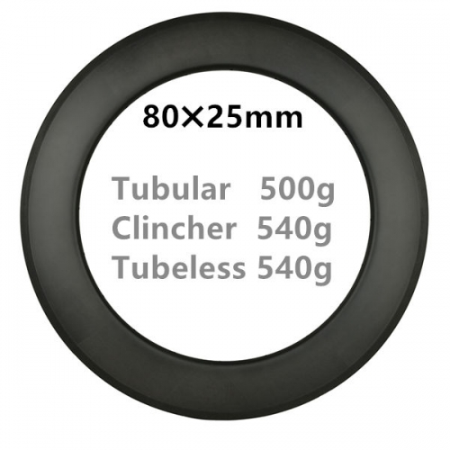 Free Shipping 500g Super light 80mm Depth Carbon Road Bike rims  700C Carbon Rims Clincher carbonbeam Tubular Tubeless T800 bicycle wheels