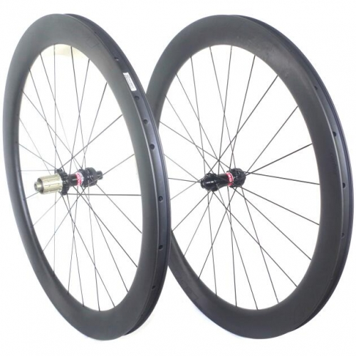 [CBRD25mm-700C ] Asymmetric 25mm wide 38mm 50mm clincher and tubeless compatible 700c*25mm carbon wheels DT240S carbon bike wheelse Free shipping