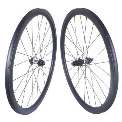 [CBRD25mm-700C] 25mm Wide 30mm 35mm 38mm 40mm 45mm 50mm 55mm 60mm 75mm 80mm 90mm 700C Carbon Road Bike Disc wheelset Clincher Tubular Tubeless Cyclocr
