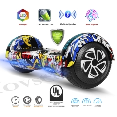 Hovsco HY-A02  Graffiti Two-wheel Hoverboard