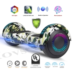 Hovsco HY-A02 Navy Camouflage Two-wheel Hoverboard