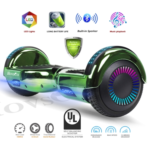 Hovsco HY-A02  Electroplating green Two-wheel Hoverboard