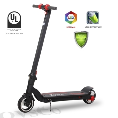 Hovsco HY-B01 Electric Scooter ,Portable Rechargeable E-Scooter Bike 6.5 Inch Wheel Foldable Kick Scooter Adult Electric Bicycle