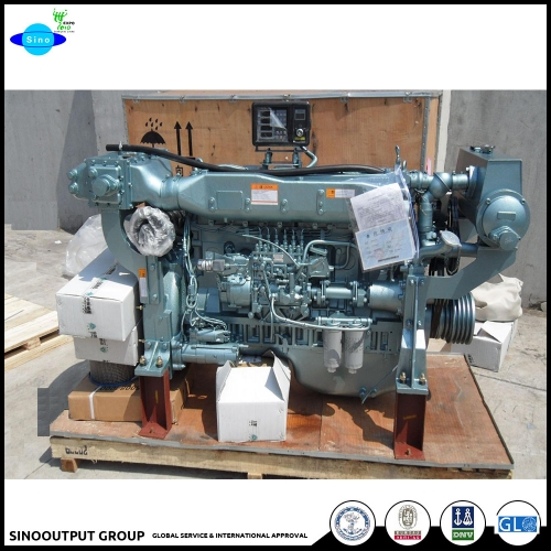 Steyr China Heavy Motor wd615 High Speed Marine Internal Engine 280ch 2100rpm