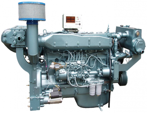 300hp Marine Motor mit Getriebe Trade assurance Marine engine