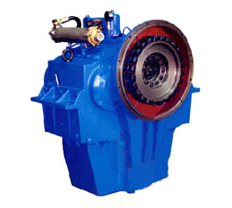 Small volume small size large ratio range marine gearbox J300 for tug boat