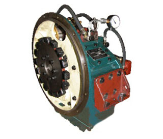 Ahead/stern clutching and bearing propeller thrust marine gearbox MA125